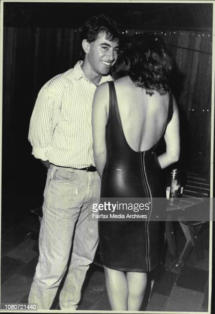 New Year's eve party held by TV and Radio personality Jonathon Coleman at Annandale between 12 and 1 am January 1 1987