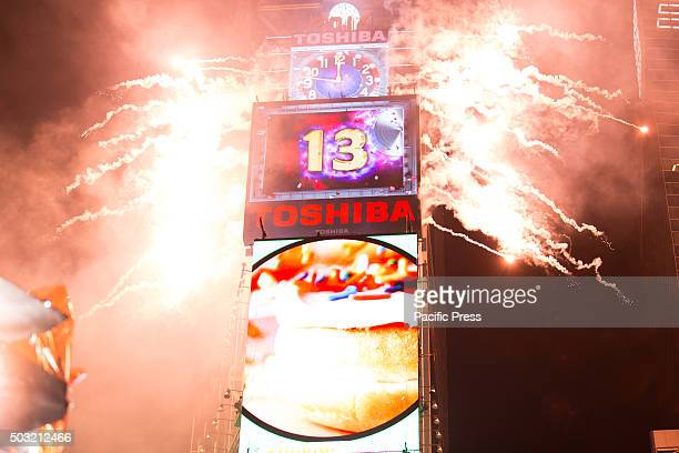 New Years Eve Revelers Ring in 2016 in Times Square Between 600 and 800 additional New York Police Department officers were deployed to Times Square...