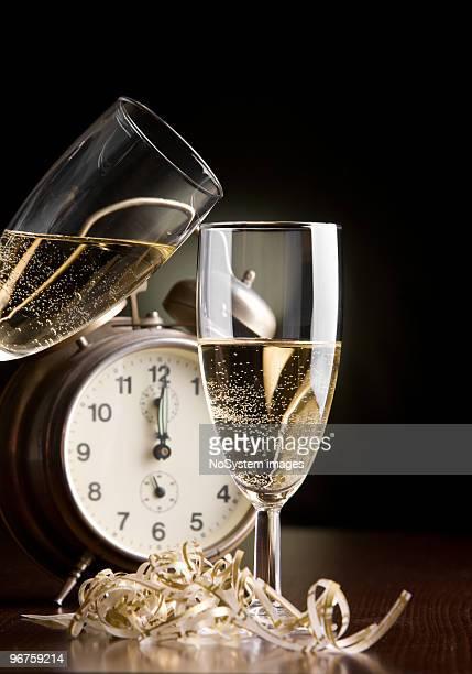 New Years eve toast