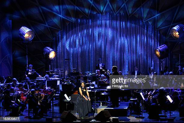 New Year's Eve with Audra McDonald and New York Philharmonic led by Ted Sperling at Avery Fisher Hall on Sunday night December 31 2006Ms McDonald...