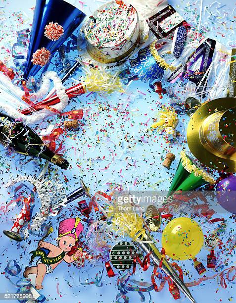 New Years Party mess