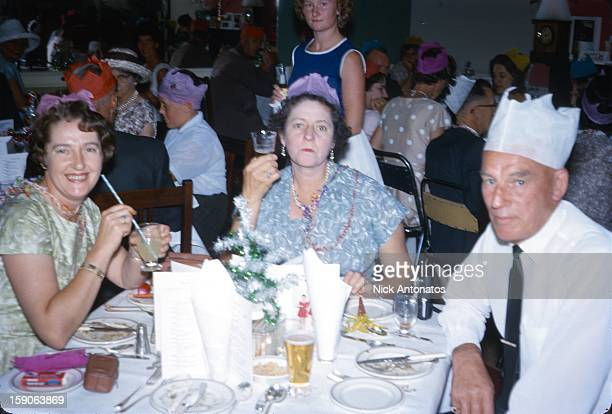 New Years party photo from a slide dated 1966.