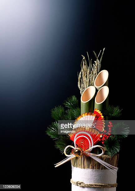 New Year's Pine Decorations