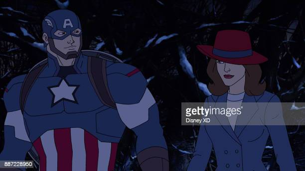 WARS New Years Resolution Past and present collide as Howard Stark and Peggy Carter team up with Iron Man and Captain America to save the time stream...