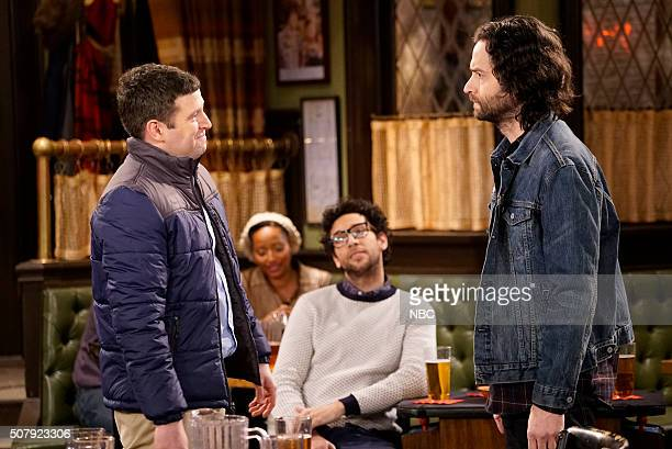 UNDATEABLE A New Year's Resolution Walks Into A Bar Episode 310A Pictured Brent Morin as Justin Rick Glassman as Burski Chris D'Elia as Danny