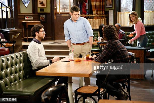 UNDATEABLE A New Year's Resolution Walks Into A Bar Episode 310A Pictured Rick Glassman as Burski Brent Morin as Justin Chris D'Elia as Danny Bridgit...
