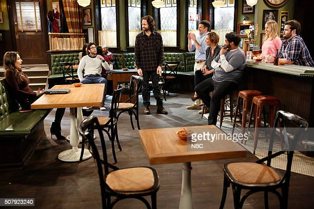 UNDATEABLE A New Year's Resolution Walks Into A Bar Episode 310A Pictured Whitney Cummings as Charlotte Rick Glassman as Burski Chris D'Elia as Danny...