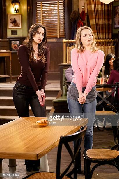 UNDATEABLE A New Year's Resolution Walks Into A Bar Episode 310A Pictured Whitney Cummings as Charlotte Bridgit Mendler as Candace