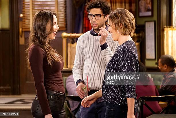 UNDATEABLE A New Year's Resolution Walks Into A Bar Episode 310A Pictured Whitney Cummings as Charlotte Rick Glassman as Burski Bianca Kajlich as...
