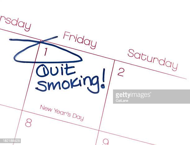 New Year's Resolutions  Quit Smoking