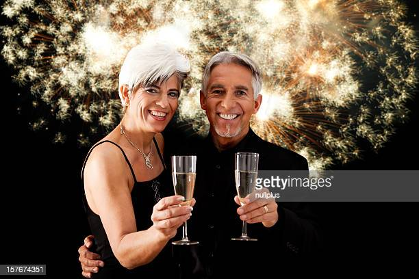 new year's senior couple