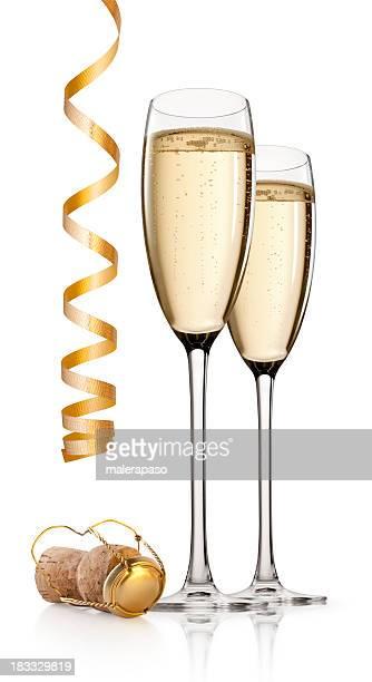 toast au nouvel an