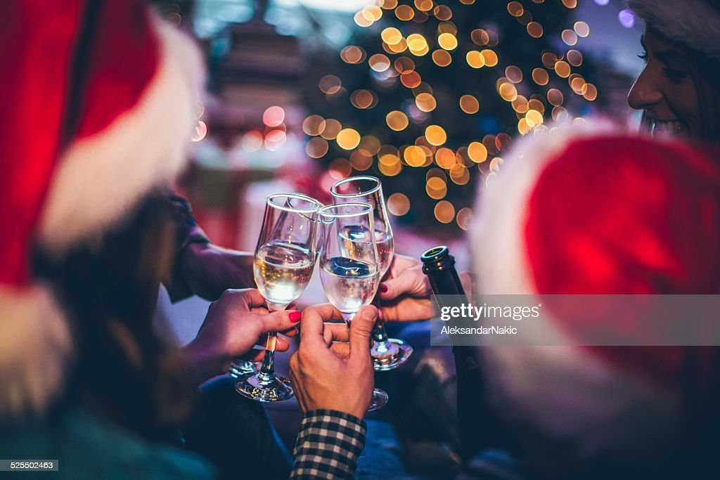 New Year's toast : Stock Photo