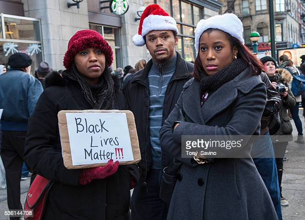 New York 13 December 2013 NYC Day of Outrage Thousands take part in the Day of Outrage protesting police brutality and murders after the recent grand...