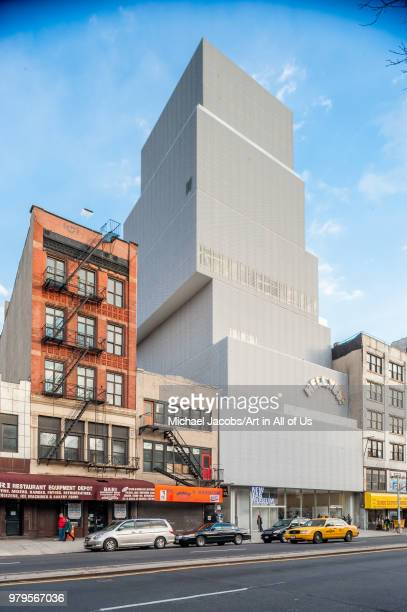 New York - 20 February 2009: The New Museum of Contemporary Art designed by SANAA