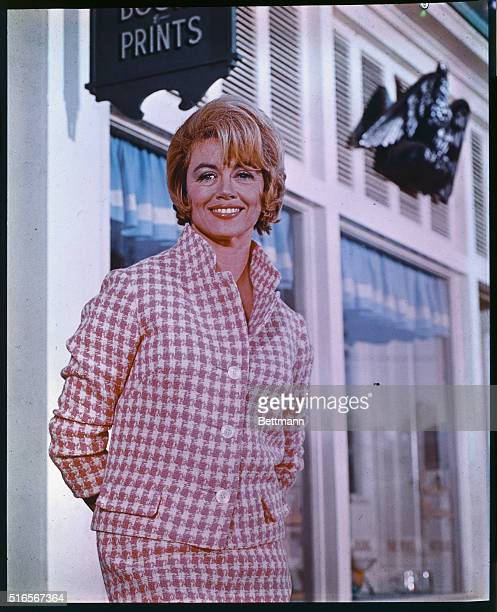 New York Actress Dorothy Malone who appears in television series Peyton Place