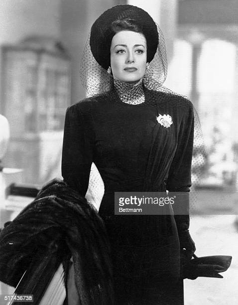 Actress Joan Crawford one of the last of Hollywood's glamor queens whose career stretched back to the golden days of silent films died at her...
