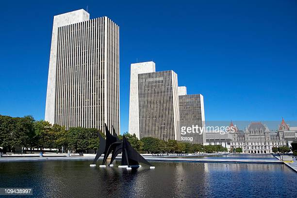 usa, new york, albany, new york state capitol - ニューヨーク州庁舎 ストックフォトと画像