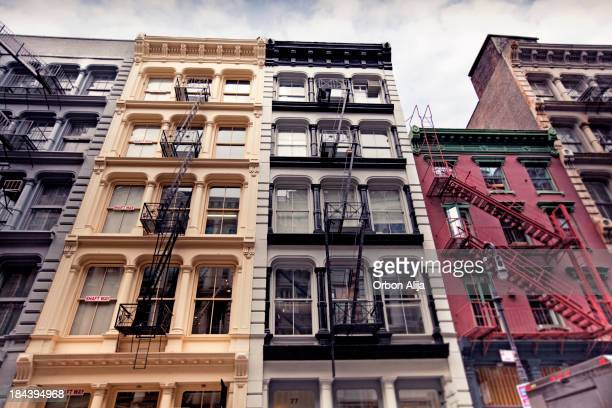 New York Architecture: SoHo Lofts