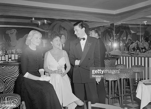 At Manhattan's elegant nightclub El Morocco Ethel Merman Mrs Winston Guest
