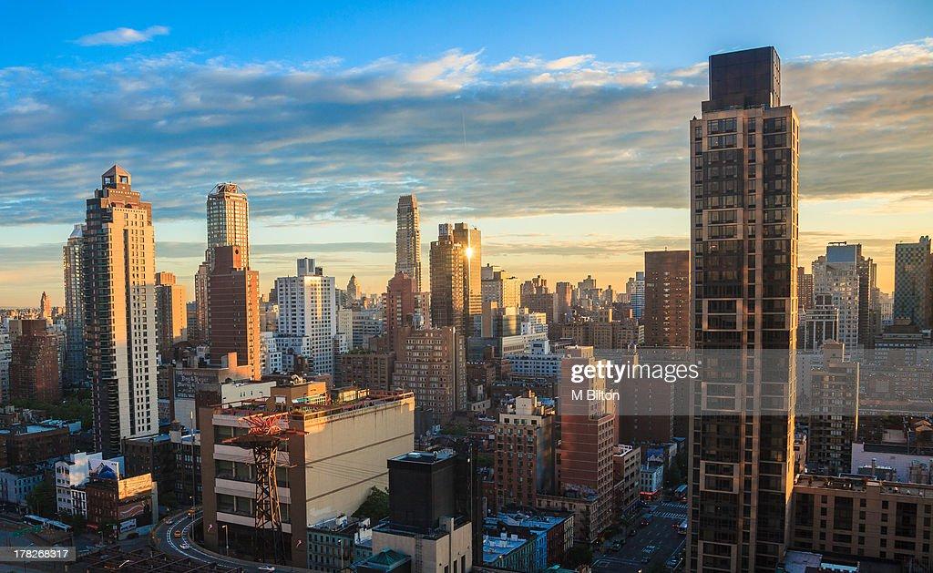 New York at Sunrise : Stock Photo