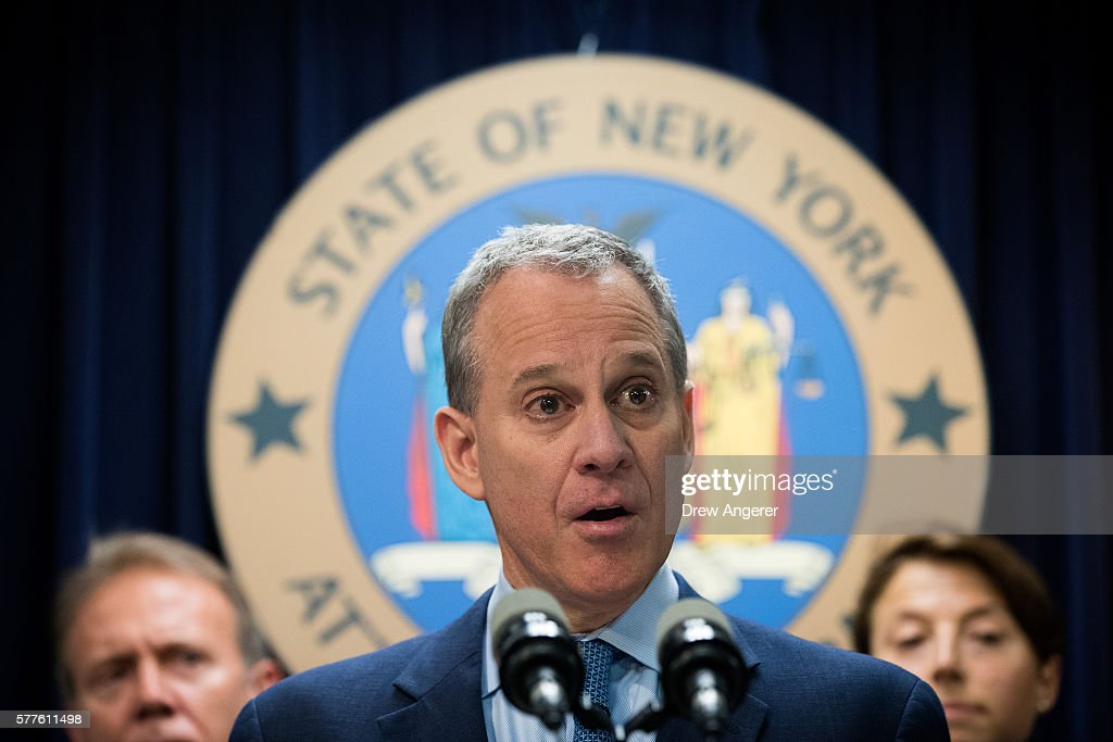 New York And Massachusetts Attorney Generals Announce Lawsuit Against Volkswagen : News Photo