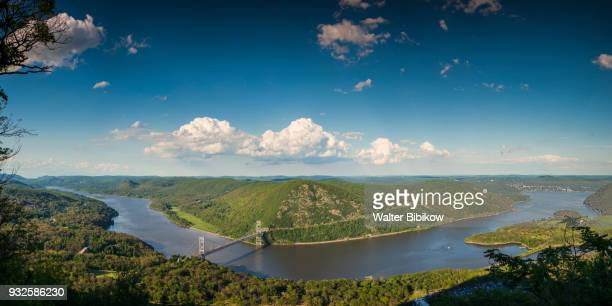 usa, new york, bear mountain view - hudson river stock pictures, royalty-free photos & images