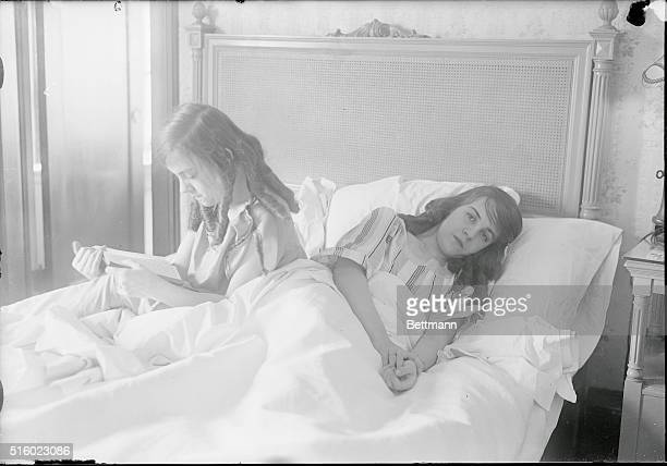 Being Attached Has its Disadvantages When Daisy Hilton at the right was stricken while traveling on a train through Newark new Jersey she was rushed...