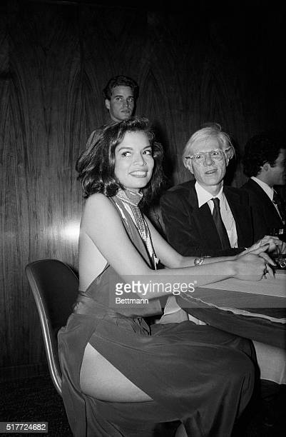 "New York: Bianca Jagger shows a little more flesh than she realized while attending the party which followed the premiere of the movie ""The Ritz""..."
