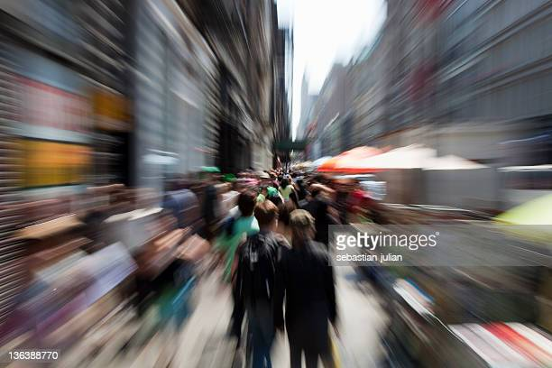 new york boardway Personen shopping
