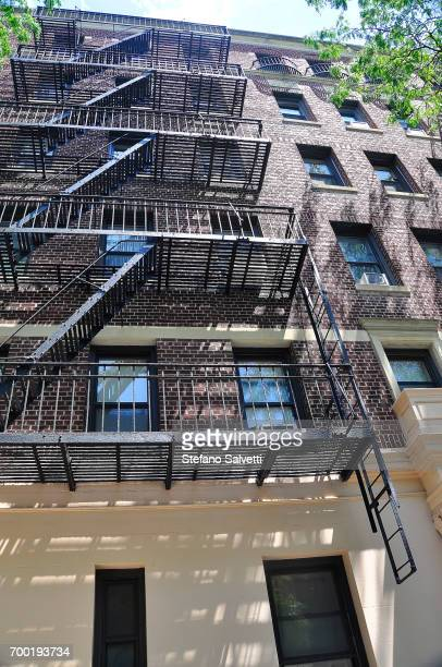 USA, New York, building and fire-escape in Brooklyn