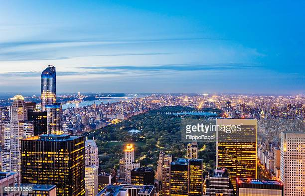 new york - central park view - central park stock pictures, royalty-free photos & images