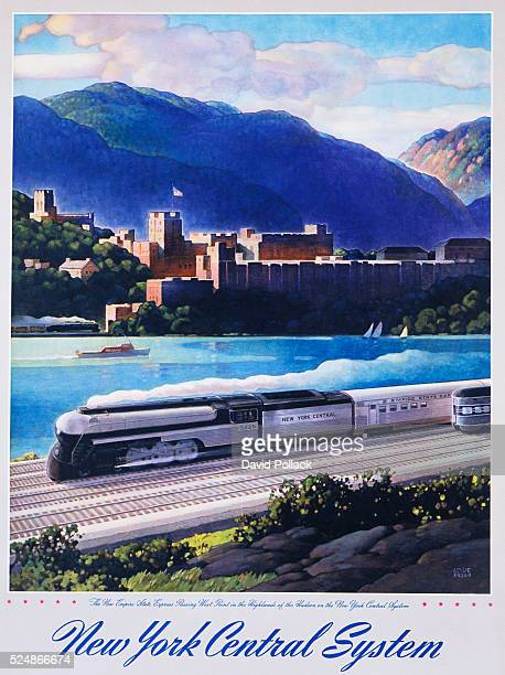 New York Central System The New Empire State Express Poster by Leslie Ragan