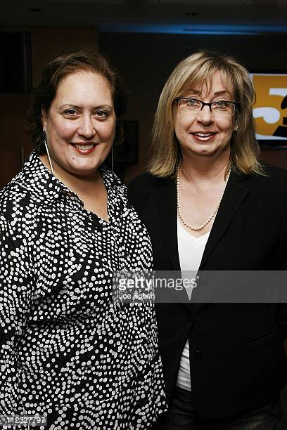 New York Chapter Manager of Chapter Operations Lorena Mann and Maureen Droney of the Recording Academy attend the New York Chapter of the National...