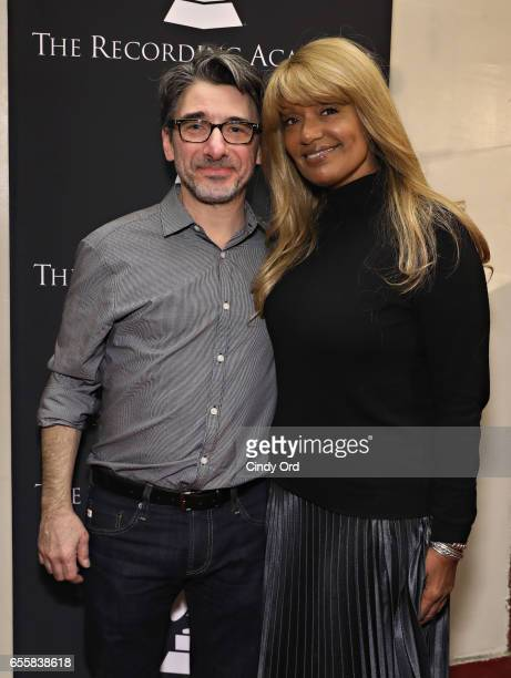 New York Chapter of The Recording Academy Executive Director Nick Cucci and Director of Talent Industry Relations for SiriusXM Tracey J Jordan attend...