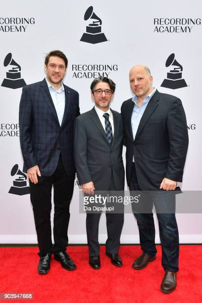 New York Chapter of The Recording Academy president Ben Allison New York Chapter of The Recording Academy executive director Nick Cucci and The...