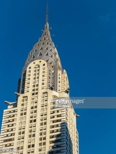 new york chrysler building. - demography stock pictures, royalty-free photos & images