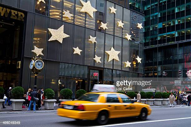 new york city 5th avenue - trump tower fifth avenue manhattan stock photos and pictures