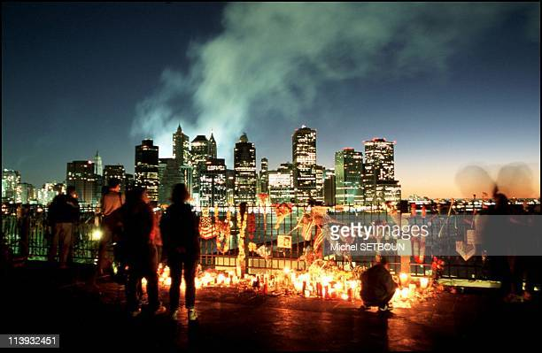 New York City after the World Trade Center attack United States On September 17 1997Memorials and candlelight vigils held to commemorate the victims...