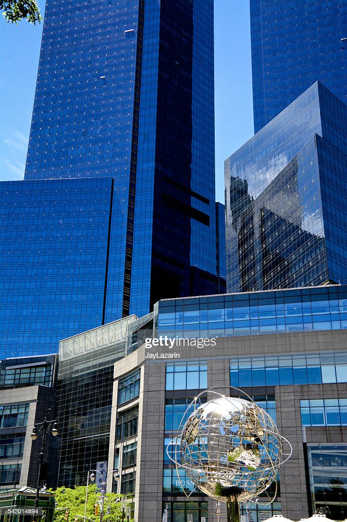 new york city architectural styles time warner center cityscape
