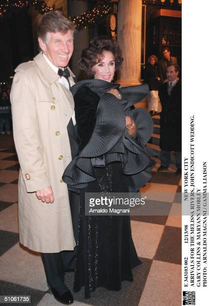 New York City Arrivals For The Melissa Rivers John Endicott Wedding Gary Collins Mn Mobley