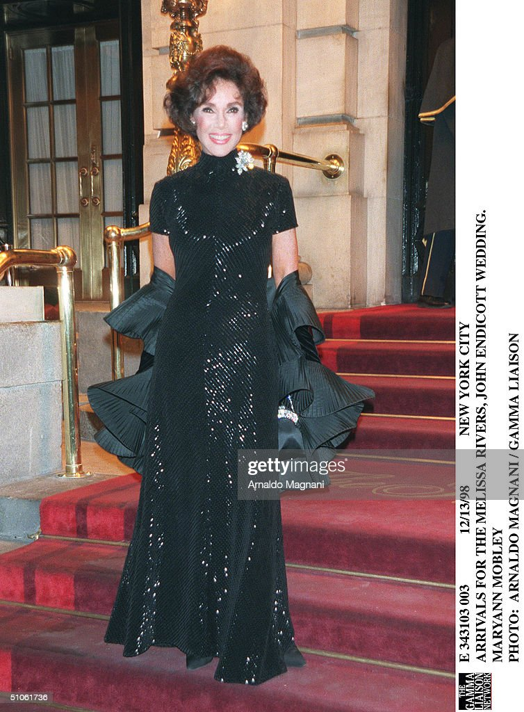 Arrivals For The Melissa Rivers John Endicott Wedding Maryann ...
