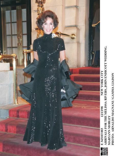 Arrivals For The Melissa Rivers John Endicott Wedding Maryann ...