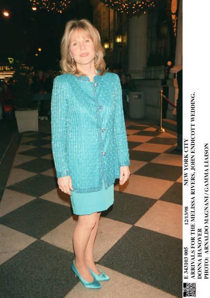 Arrivals For The Melissa Rivers John Endicott Wedding Donna Pictures ...