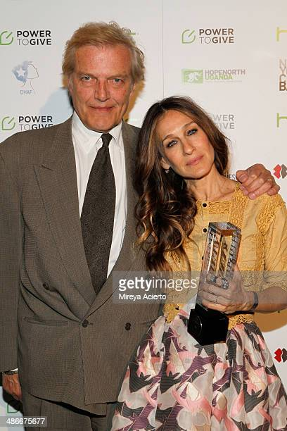 New York City Ballet Master in Chief Peter Martins and Actress Sarah Jessica Parker attend Variety Power Of Women: New York presented by FYI at...