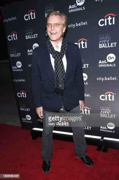 """New York City Ballet Master in Chief Peter Martins attends the New York series premiere of """"city.ballet."""" at Tribeca Cinemas on November 4, 2013 in..."""