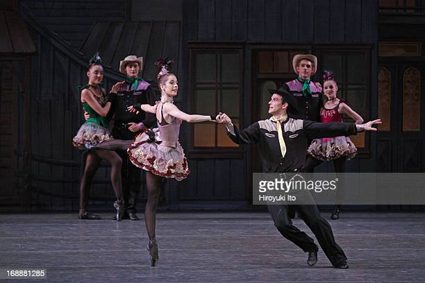 New York City Ballet performing in its American Music Festival at the David H. Koch Theater on Friday night, May 10, 2013.This image:Rebecca Krohn...