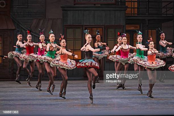 New York City Ballet performing in its American Music Festival at the David H. Koch Theater on Friday night, May 10, 2013.This image:Teresa Reichlen...