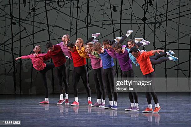 New York City Ballet performing in its American Music Festival at the David H. Koch Theater on Friday night, May 10, 2013.This image:A scene from...