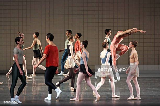 New York City Ballet performing in its American Music Festival at the David H Koch Theater on Friday night May 10 2013This imageAdrian DanchigWaring...